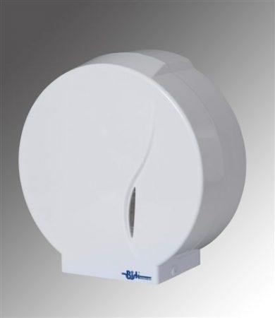 Bisk Masterline Jumbo-P1 ABS műanyag fehér wc papír adagoló