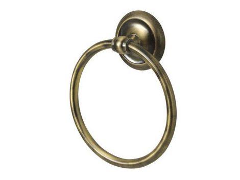 Bisk DECO antikolt törölközőtartó gyűrű