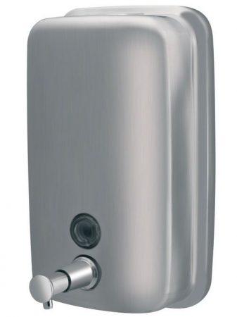 Bisk Masterline 1000ml fali szappanadagoló rozsdamentes acélból