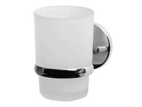 Bisk CHROMA króm pohár és pohártartó
