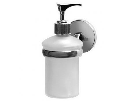 Bisk CHROMA króm folyékony szappan adagoló üveg betéttel