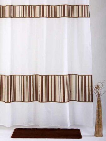 Bisk Bamboo textil zuhanyfüggöny