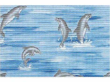 Bisk Dolphin kék csúszásgátló