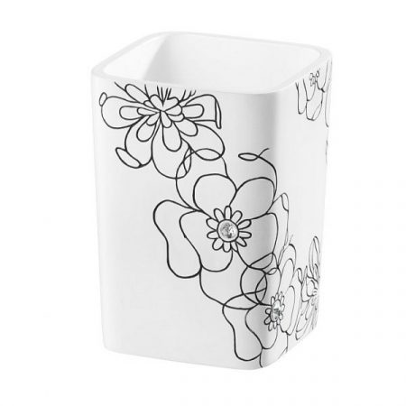 Bisk Bloom fehér pohár