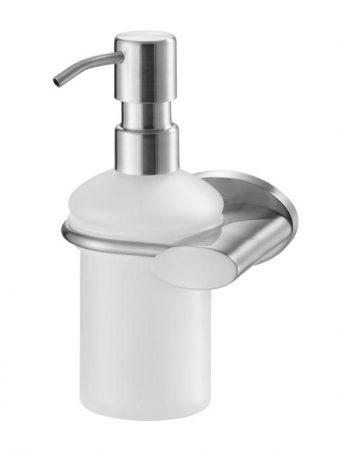 Bisk SIDE matt króm üveg folyékony szappan adagoló