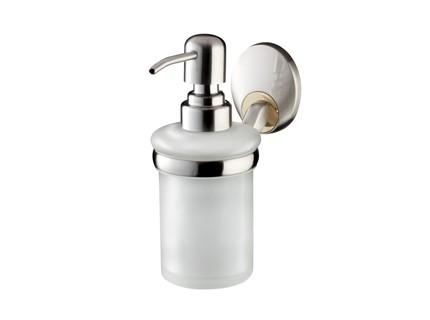Bisk PASSION króm üveg folyékony szappan adagoló