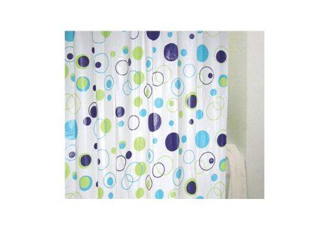 Bisk Meander műanyag zuhanyfüggöny
