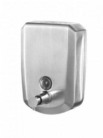 Bisk Masterline 500ml fali szappanadagoló rozsdamentes acélból