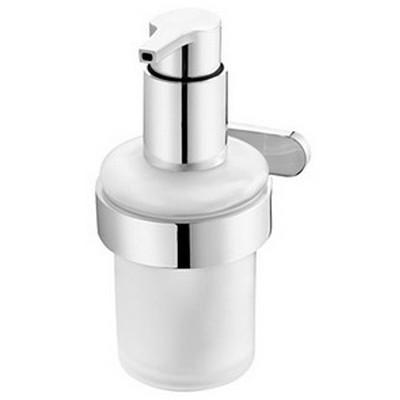 Bisk NATURA króm folyékony szappan adagoló üvegbetéttel