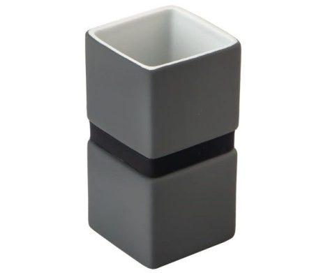 Bisk Band szürke pohár