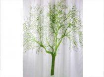 Bisk Tree 1 textil zuhanyfüggöny