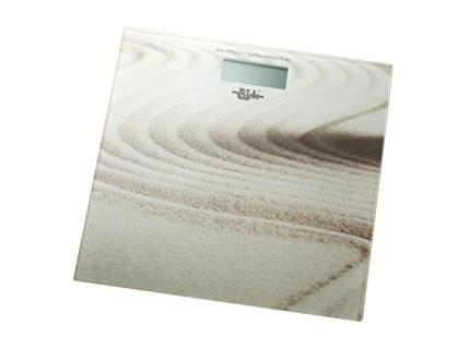 Bisk elektromos fürdőszobai mérleg (homok mintás)