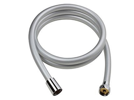 Bisk BASE zuhanycső PVC ezüst
