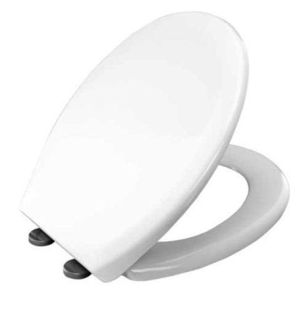 Bisk STAR lecsapódásgátlós duroplast WC ülőke