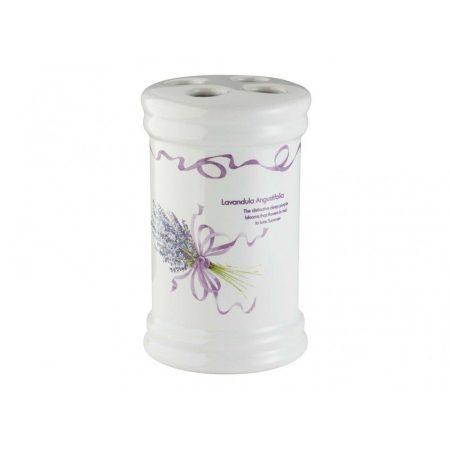 Bisk Lavender fogkefetartó
