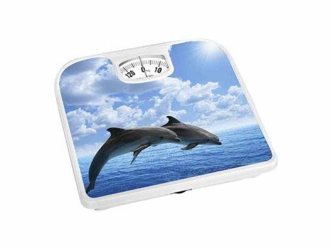 Bisk fürdőszobai mérleg (delfin mintás)