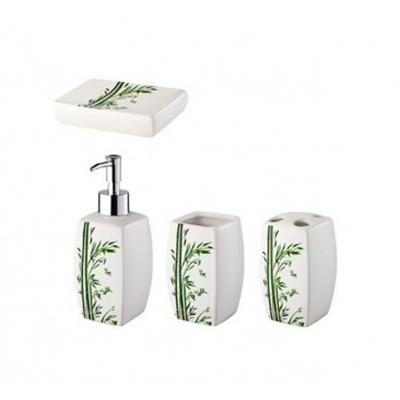 Bisk Bamboo 4 darabos fürdőszoba szett