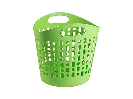 Bisk Zöld színű szennyes kosár