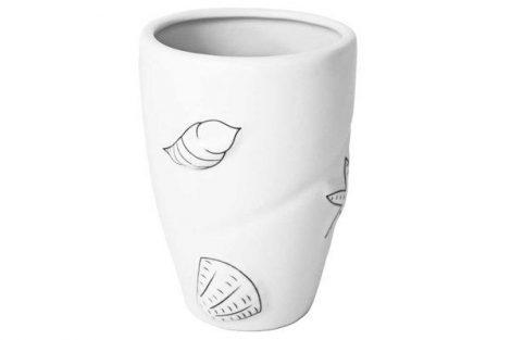 Bisk BEACH pohár WHITE