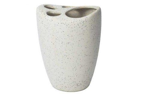 Bisk DESERT fogkefetartó pohár BEIGE
