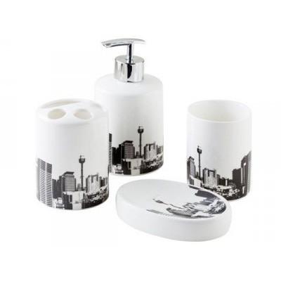 Bisk City 4 darabos fürdőszoba szett