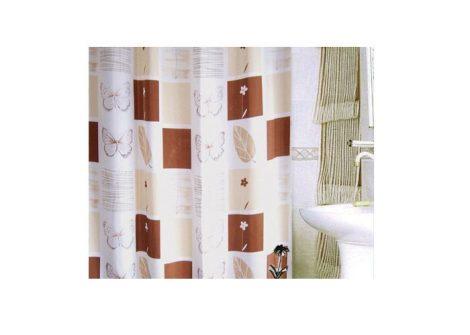 Bisk Thessa textil zuhanyfüggöny