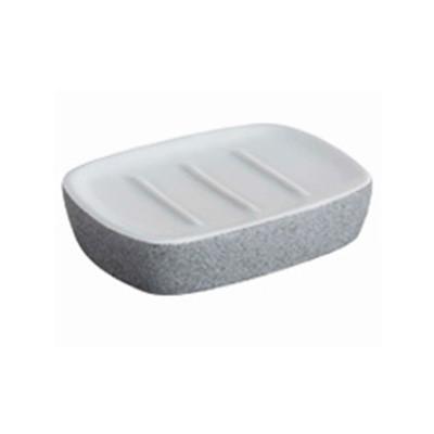 Bisk Stone Grey szappantartó tál