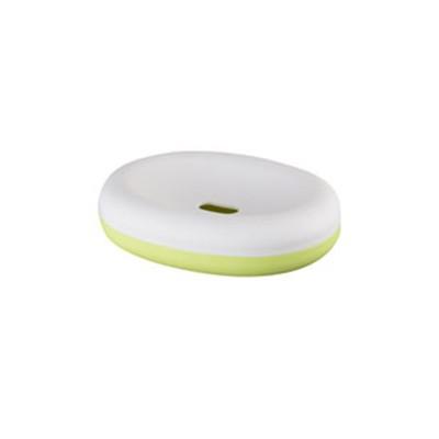 Bisk Duet green szappantartó tál