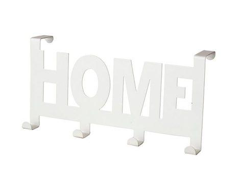 Bisk ajtóra-bútorra-kabinra akasztható HOME 4-es fogas