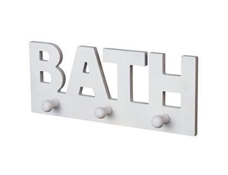 Bisk ajtóra-bútorra-kabinra akasztós BATH 3-as fogas