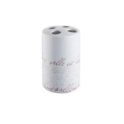 Bisk Stamp fogkefetartó pohár