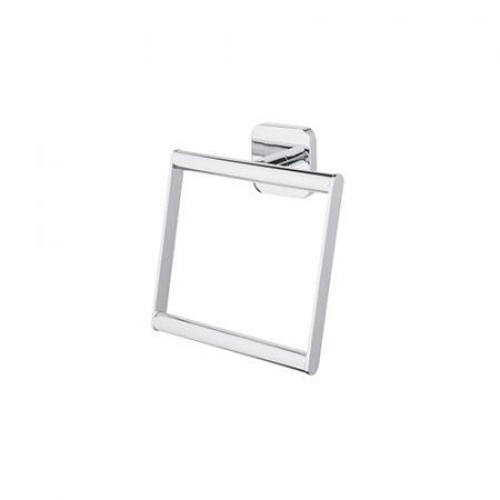 BISK Forte króm négyzet alakú törölköző tartó gyűrű