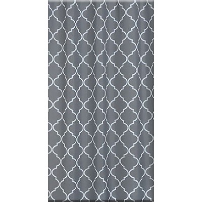 Bisk Orient 3 grey textil zuhanyfüggöny
