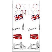 Bisk LONDON textil zuhanyfüggöny