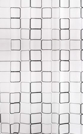 Bisk Malta2 műanyag PEVA zuhanyfüggöny