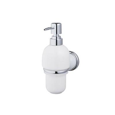 Bisk GRENADA üveg/króm folyékony szappanadagoló