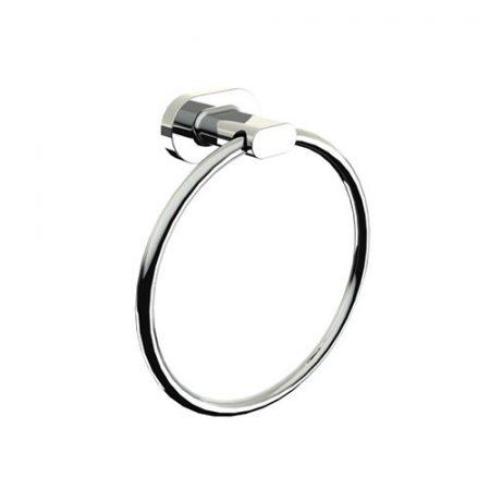 Bisk GO króm törölköző tartó gyűrű