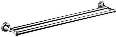 Bisk One dupla törölköző tartó 600 mm