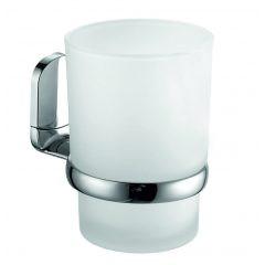 Bisk Vigo fogmosó pohár és króm pohártartó