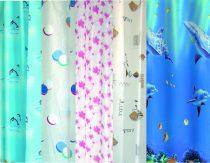 Bisk Eco Mix műanyag zuhanyfüggöny
