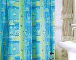 Bisk Nautic textil zuhanyfüggöny