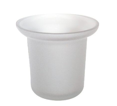 Bisk pót üveg wc kefe tartó pohár