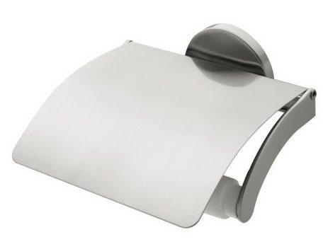 Bisk VIRGINIA matt króm fedeles WC papír tartó