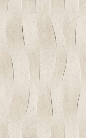 Golden Tile 25x40 Summer Stone Wave beige dekorcsempe