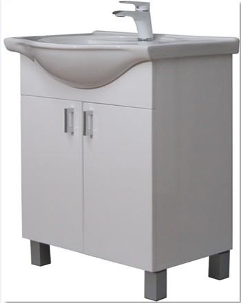 GVG Ekonomik lábakon álló fürdőszobabútor, mosdóval