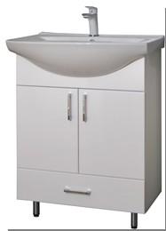 GVG BIANKA Plus lábakon álló fürdőszobabútor mosdóval