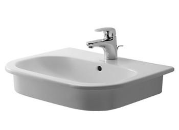 Duravit D-Code felülről beépíthető mosdó