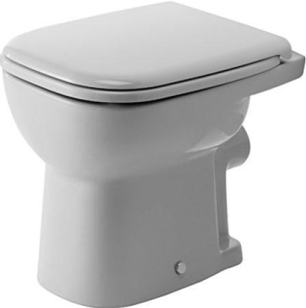 Duravit D-Code síköblítésű, hátsó kifolyású álló wc