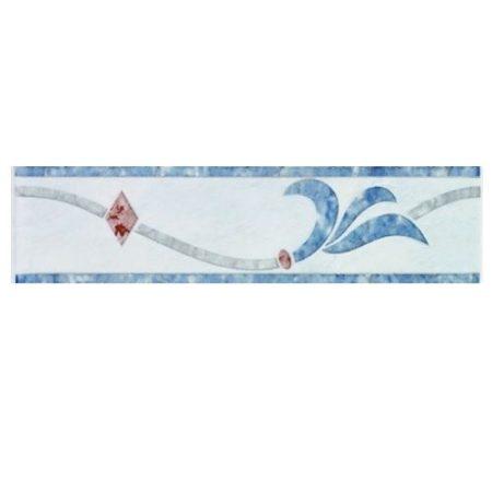 Zalakerámia Duna SZ-4 dekorcsík