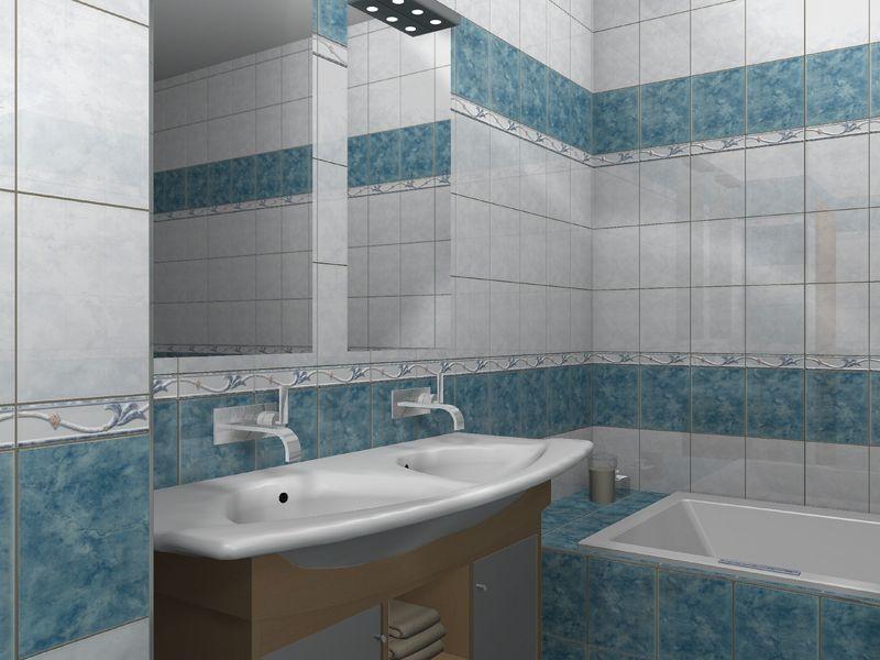 Zalakerámia Duna ZBE-728 fali csempe - Mediterrán Fürdőszoba